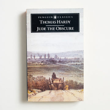 Jude the Obscure by Thomas Hardy, Penguin Books, Paperback from A GOOD USED BOOK.  1987 No Stated Printing Classics