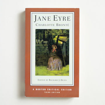 Jane Eyre (Norton Critical Edition) by Charlotte Bronte, Norton & Company, Trade Softcover from A GOOD USED BOOK.  2001 3rd Edition Classics