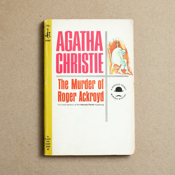 The Murder of Roger Ackroyd by Agatha Christie, Pocket Books, Paperback from A GOOD USED BOOK.