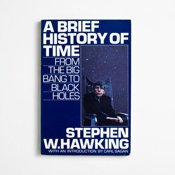 A Brief History of Time by Stephen W. Hawking, Bantam Books, Large Trade Softcover from A GOOD USED BOOK.  1988 No Stated Printing Non-Fiction