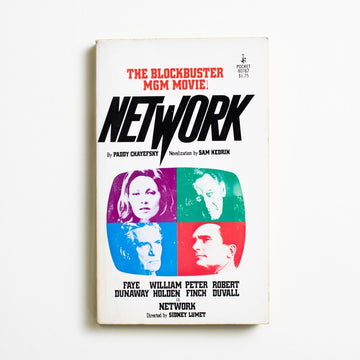 Network by Sam Hedrin, Pocket Books, Paperback from A GOOD USED BOOK. A bleak, brilliant, and before-its-time story of media moguls and their mental breakdowns. 1977 3rd Printing Genre