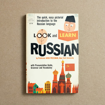 Look and Learn Russian by Aron Pressman, Dell Publishing, Paperback from A GOOD USED BOOK.