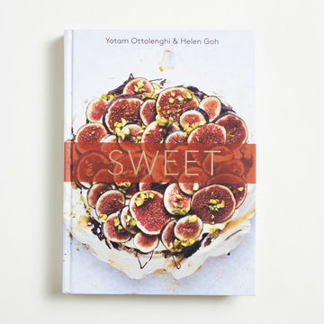 Sweet by Yotam Ottolenghi, Ten Speed Press, Large Hardcover from A GOOD USED BOOK.  2017 3rd Printing Reference