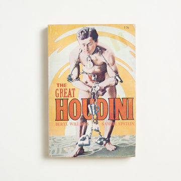The Great Houdini by Beryl Williams, Scholastic Publishing, Paperback from A GOOD USED BOOK.  1971 14th Printing Non-Fiction