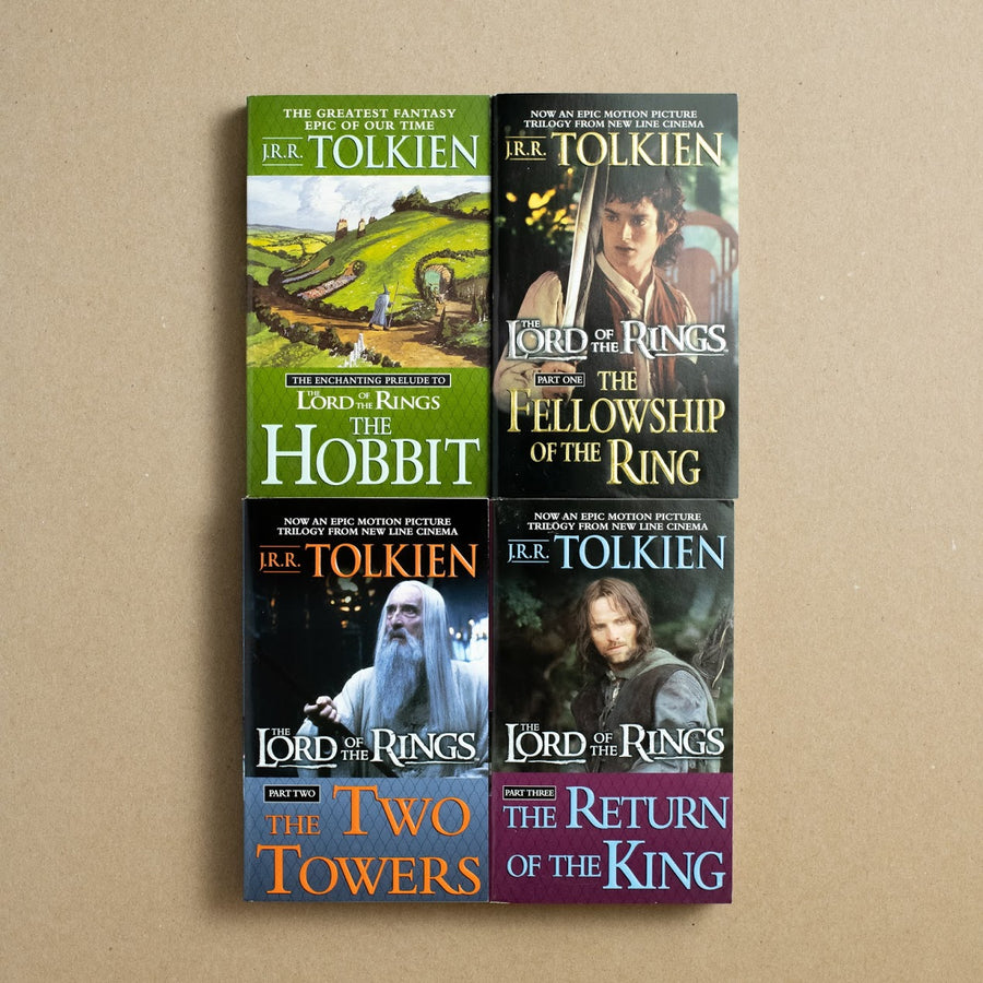 The Lord of the Ring Movie Tie-in Box Set by J.R.R. Tolkien