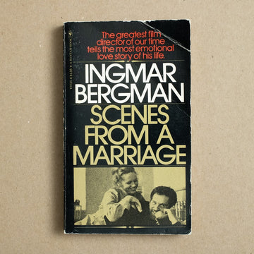 Scenes from a Marriage by Ingmar Bergman, Bantam Books, Paperback from A GOOD USED BOOK.