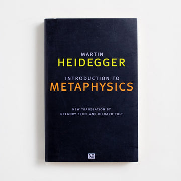 An Introduction to Metaphysics (Yale University Press) by Martin Heidegger, Yale University Press, Trade Softcover from A GOOD USED BOOK. Often hailed as