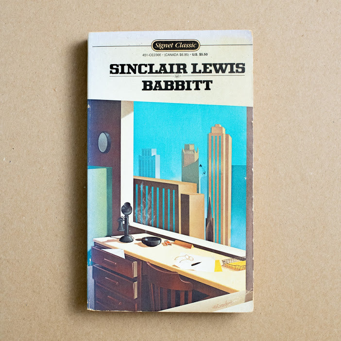 Babbit by Sinclair Lewis, Signet Classic, Paperback from A GOOD USED BOOK.