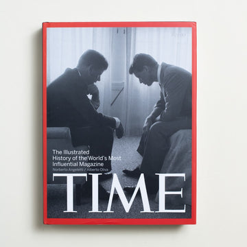 Time: The Illustrated History of the World's Most Influential Magazine by Norberto Angeletti, Rizzoli, Oversize Hardcover w. Dust Jacket from A GOOD USED BOOK.  2010 No Stated Printing Culture