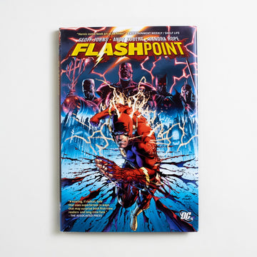 Flashpoint by Geoff Johns, DC Comics, Large Hardcover w. Dust Jacket from A GOOD USED BOOK.  2011 No Stated Printing Genre Superheroes