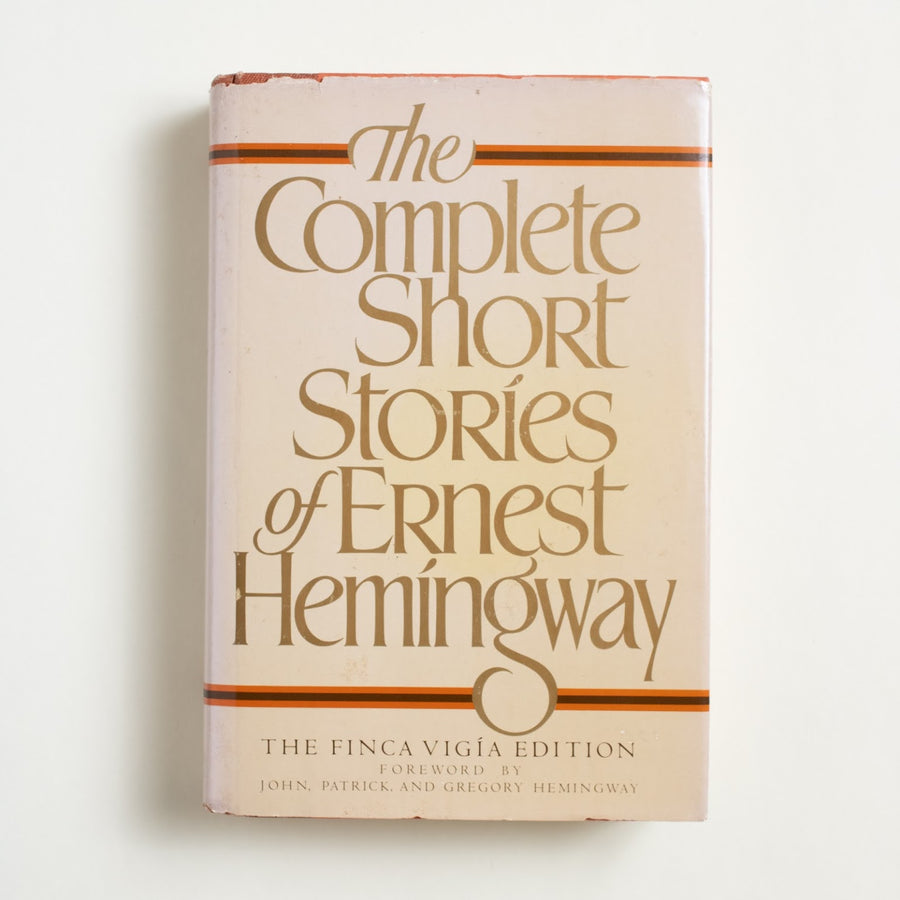 The Complete Short Stories of Ernest Hemingway by Ernest Hemingway, Charles Scribner's Sons, Hardcover w. Dust Jacket from A GOOD USED BOOK.  1987 No Stated Printing Literature Collection