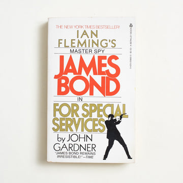 For Special Services by John Gardner, Berkley Books, Paperback from A GOOD USED BOOK.  1983 No Stated Printing Genre James Bond, Ian Fleming
