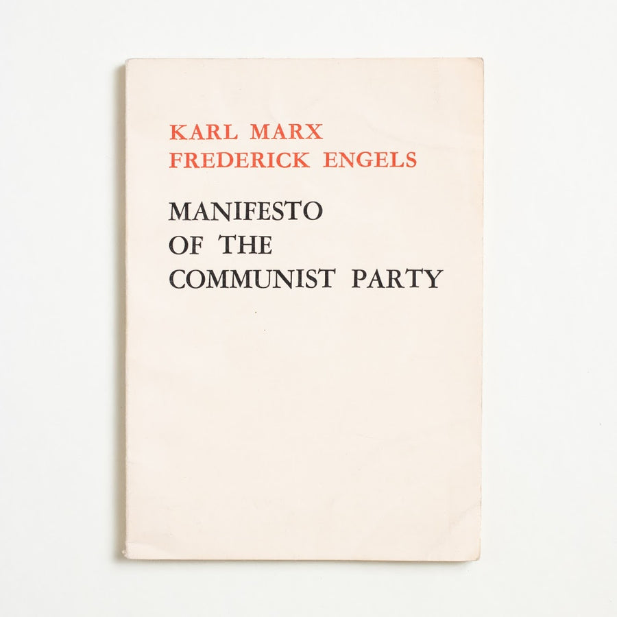 Manifesto of the Communist Party by Karl Marx, Foreign Languages Press, Small Booklet from A GOOD USED BOOK.