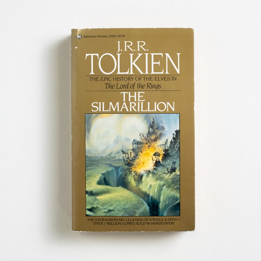 The Silmarillion by J.R.R. Tolkien, Ballantine Books, Paperback from A GOOD USED BOOK. This book was Tolkien's pride and joy. It was his map. It was his history, his world's biography. 1984 6th Printing Classics Classic Literature,readingbrb
