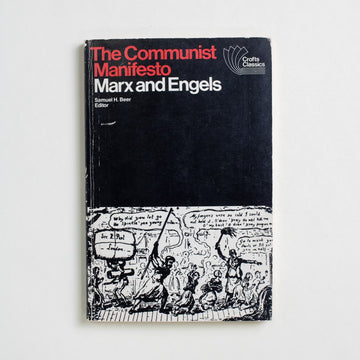 The Communist Manifesto (Crofts Classics) by Karl Marx, AHM Publishing, Small Trade Softcover from A GOOD USED BOOK.  1970 35th Printing Non-Fiction History
