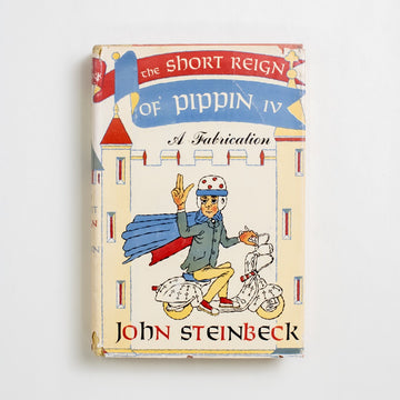 The Short Reign of Pippin IV (Viking Press) by John Steinbeck, The Viking Press, Hardcover w. Dust Jacket from A GOOD USED BOOK. Steinbeck's only blatant political satire, it involves a novice astronomer turned King of France, a motorscooter, and a Communist rebellion. 1957 1st Edition Literature