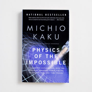 Physics of the Impossible (Trade) by Michio Kaku, Anchor Books, Trade Softcover from A GOOD USED BOOK. A scientific exploration into the world of phasers, force fields, teleportation, and time travel... 2008 15th Printing Non-Fiction