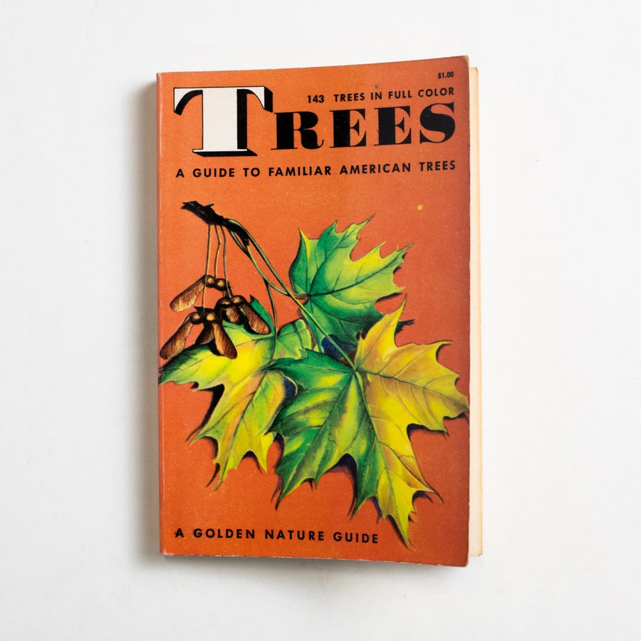 Trees: A Guide to Familar American Trees by Herbert S. Zim, Golden Press, Paperback from A GOOD USED BOOK.  1956 No Stated Printing Non-Fiction Field Guides