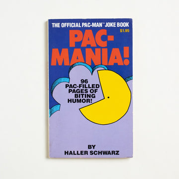 Pac-Mania! by Haller Schwarz, Pinnacle Books, Paperback from A GOOD USED BOOK.  1982 1st Printing Reference