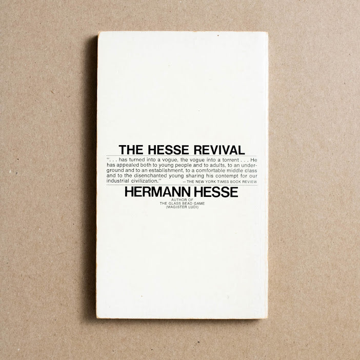 Demian (Q5544) by Hermann Hesse