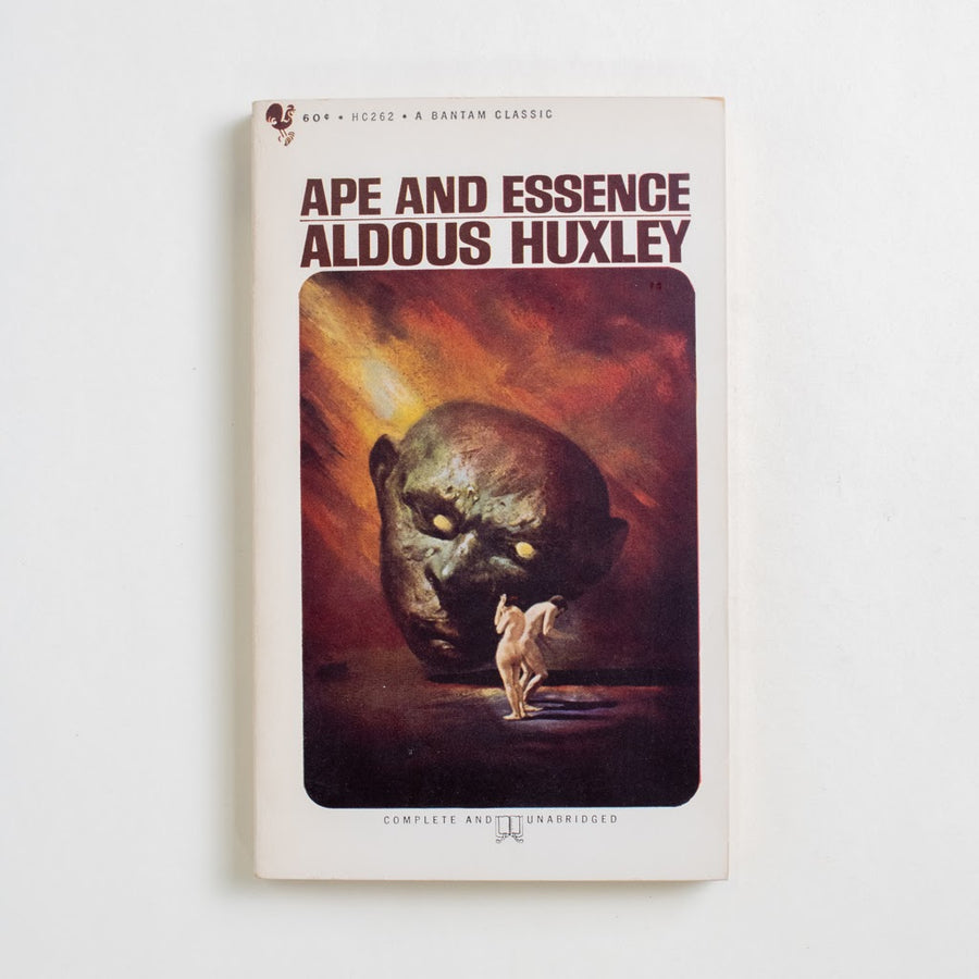 Ape and Essence by Aldous Huxley, Bantam Books, Paperback from A GOOD USED BOOK. Aldous Huxley's bold and satirical sequel to