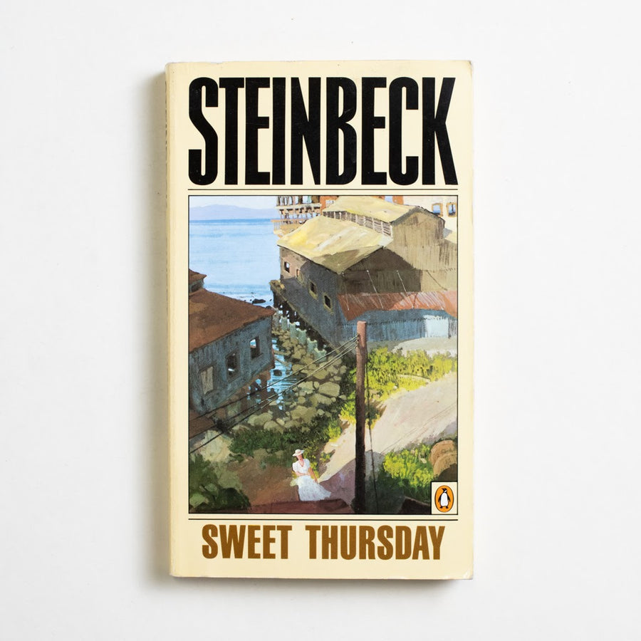 Sweet Thursday by John Steinbeck, Penguin Books, Paperback from A GOOD USED BOOK. My personal favorite of all of Steinbeck's short works, this book can be read as a standalone or as a sequel to the cherished
