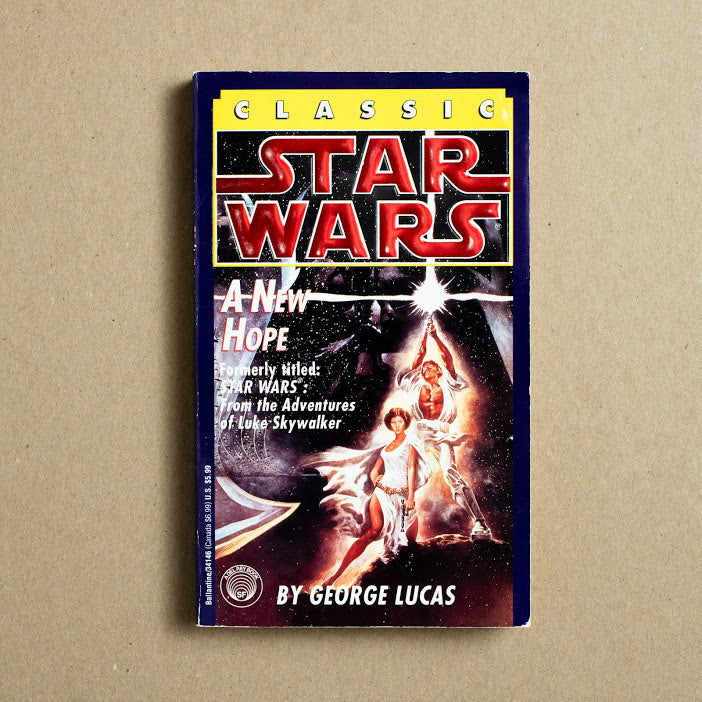 Star Wars: A New Hope (34146) by George Lucas, Del Ray Books, Paperback from A GOOD USED BOOK.
