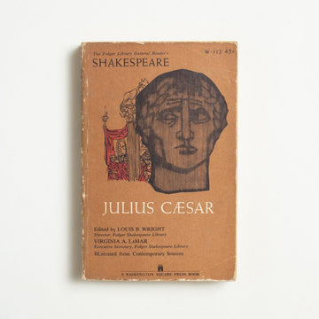 Julius Caesar (Washington Square) by William Shakespeare, Washington Square Press, Paperback from A GOOD USED BOOK.  1961 3rd Printing Classics