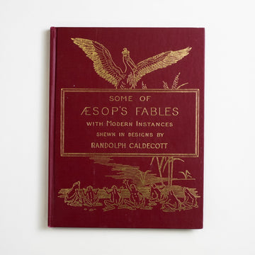 Some of Aesop's Fables with Modern Instances by Randolph Caldecott, Doubleday and Company, Large Hardcover from A GOOD USED BOOK.  1978 No Stated Printing Classics