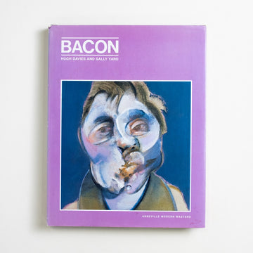Bacon by Hugh Davies, Abbeville Press, Large Hardcover w. Dust Jacket from A GOOD USED BOOK. Francis Bacon, successful even in his liftetime,  painted the existential and the erotic with a raw and tangible darkness. A true, tragic talent.  1986 1st Edition Art