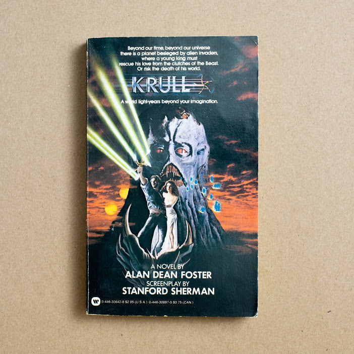 Krull by Alan Dean Foster, Warner Books, Paperback from A GOOD USED BOOK.