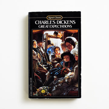 Great Expectations by Charles Dickens, Signet Classic, Paperback from A GOOD USED BOOK. First printed in serial form between December 1860 and August 1861, the whole collected novel was finally published in October of that year. 1980 35th Printing Classics