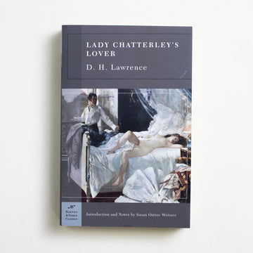 Lady Chatterley's Lover (Trade) by D.H. Lawrence, Barnes and Noble Books, Trade Softcover from A GOOD USED BOOK.  2005 4th Printing Classics