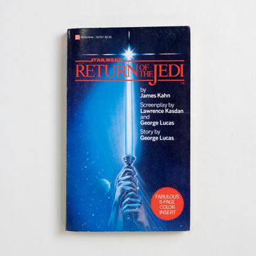 Return of the Jedi by James Kahn, Del Ray Books, Paperback from A GOOD USED BOOK.  1983 1st Edition Genre Movie Tie-in
