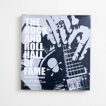 The Rock and Roll Hall of Fame: The First 25 Years edited by Holly George-Warren, Collins Design, Oversize Hardcover w. Dust Jacket from A GOOD USED BOOK. The definitive chronicle of rock  and roll as told by its legends. 2009 1st Printing Art