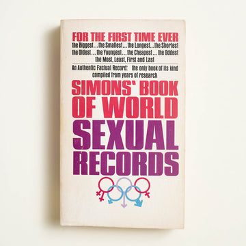 Simons' Book of World Sexual Records by , Pyramid Publications, Paperback from A GOOD USED BOOK.