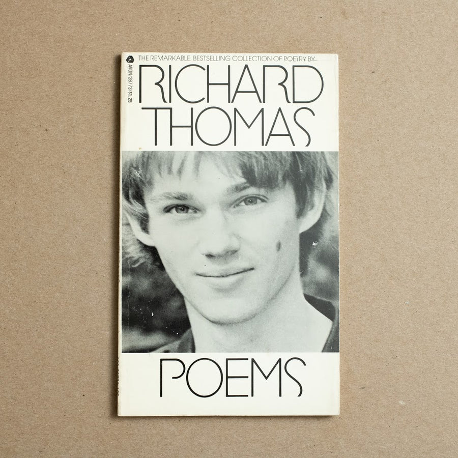 Poems by Richard Thomas, Avon Books, Paperback from A GOOD USED BOOK.