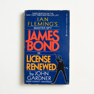 License Renewed by John Gardner, Berkley Books, Paperback from A GOOD USED BOOK.  1984 14th Printing Genre James Bond, Ian Fleming