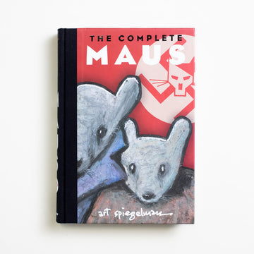 The Complete Maus by Art Spiegelman, Patheon, Hardcover w/o Dust Jacket from A GOOD USED BOOK.