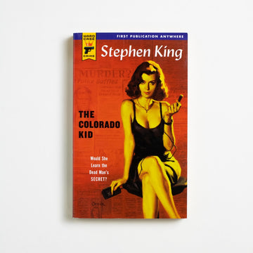 The Colorado Kid by Stephen King, Hard Case Crime Novel, Paperback from A GOOD USED BOOK. First published in 2005, King worked with Hard Case Crime  to release this novel as a paperback-only original printing. 2005 No Stated Printing Genre Mystery