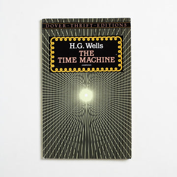 The Time Machine (Dover Thrift) by H.G. Wells, Dover Publications, Trade Softcover from A GOOD USED BOOK.  1995 No Stated Printing Genre