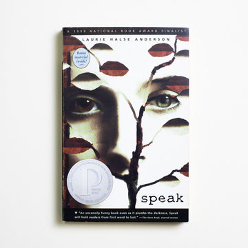 Speak by Laurie Halse Anderson, Speak, Trade Softcover from A GOOD USED BOOK. A young adult novel,