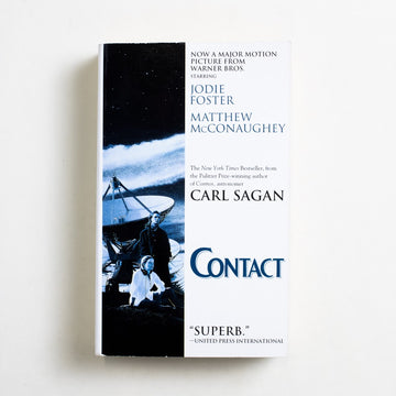 Contact by Carl Sagan, Pocket Books, Paperback from A GOOD USED BOOK.  2000 18th Printing Genre