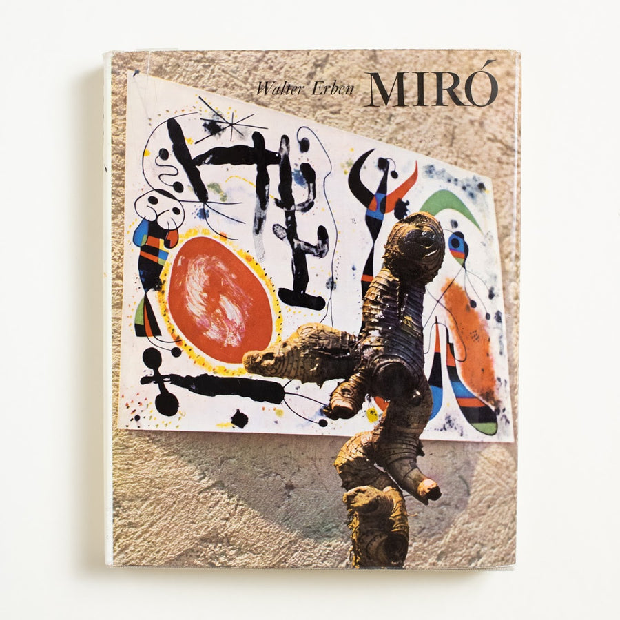 Miro by Walter Erben, Prestel-Verlag, Large Hardcover w. Dust Jacket from A GOOD USED BOOK.  1959 1st Edition Art Joan Miro