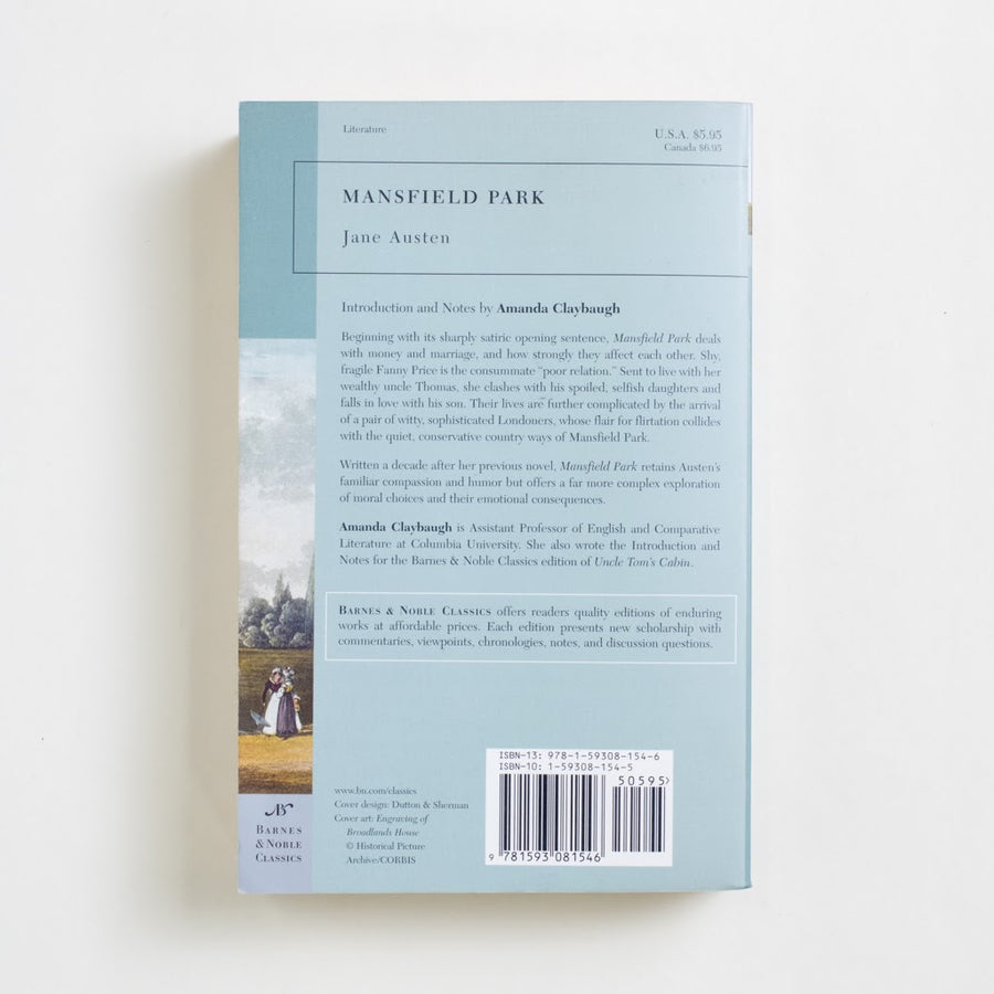 Mansfield Park (Barnes and Noble) by Jane Austen