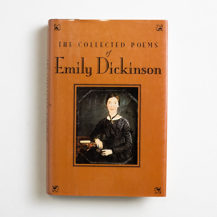 The Collected Poems by Emily Dickinson, Barnes and Noble Books, Hardcover w. Dust Jacket from A GOOD USED BOOK. Emily Dickinson was considered an eccentric  by those in her surrounding community. She  loved to wear white, write letters and - lucky  for us! - write plenty of great poetry as well.  1993 2nd Printing Literature
