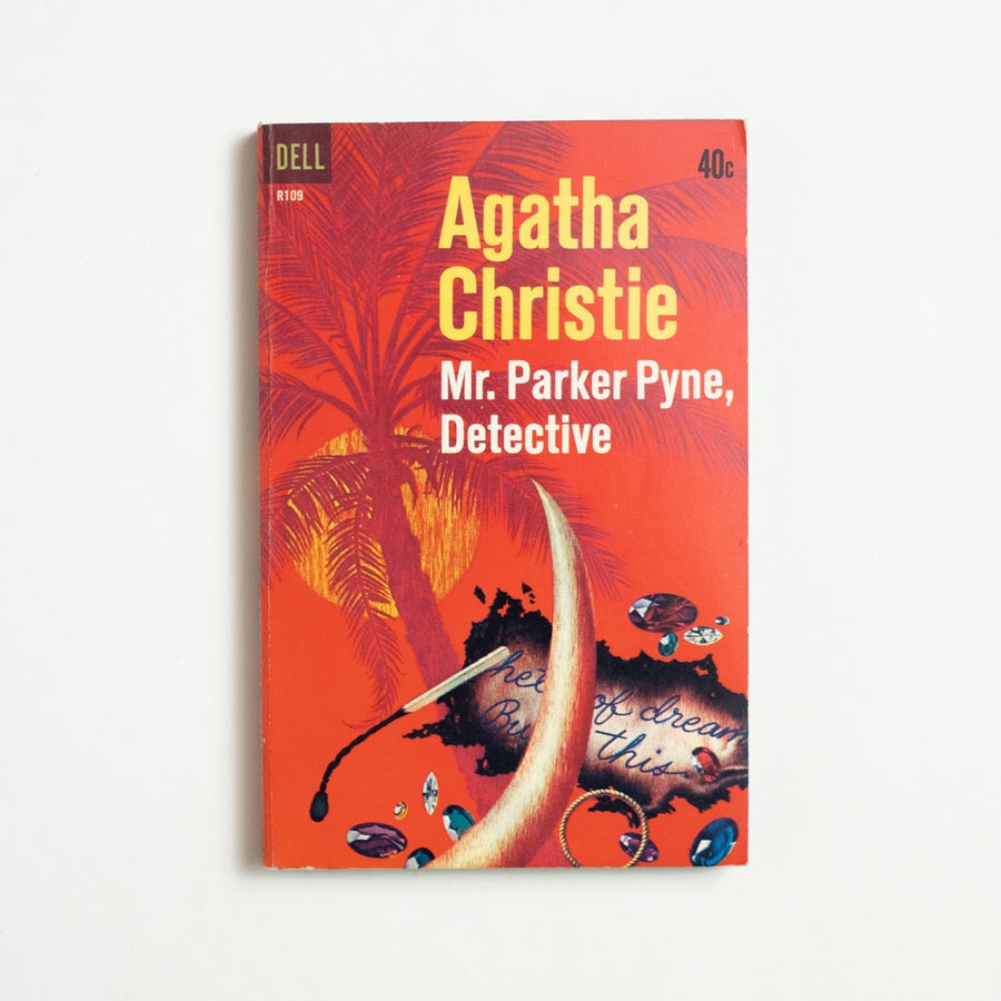 Mr. Parker Pyne, Detective by Agatha Christie, Dell Publishing, Paperback from A GOOD USED BOOK.  1962 1st Printing Genre