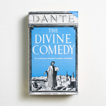 The Divine Comedy by Dante Alighieri, Vintage Books, Paperback from A GOOD USED BOOK.  1959 No Stated Printing Classics