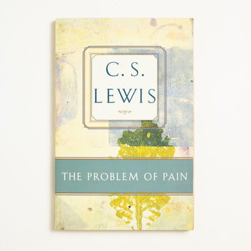 The Problem of Pain by C.S. Lewis, Touchstone Books, Trade Softcover from A GOOD USED BOOK.  1996 2nd Printing Culture Theology