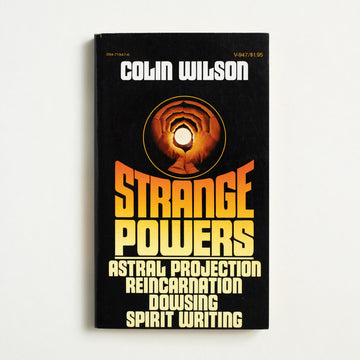 Strange Powers by Colin Wilson, Vintage Books, Paperback from A GOOD USED BOOK.  1976 1st Vintage Edition Non-Fiction